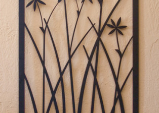 Flowering Star Grass by Trellis Art Designs