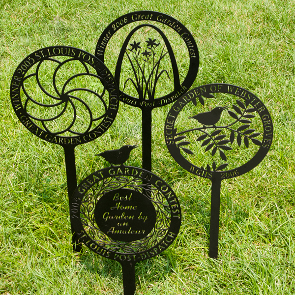 Markers for Award Winning Gardens