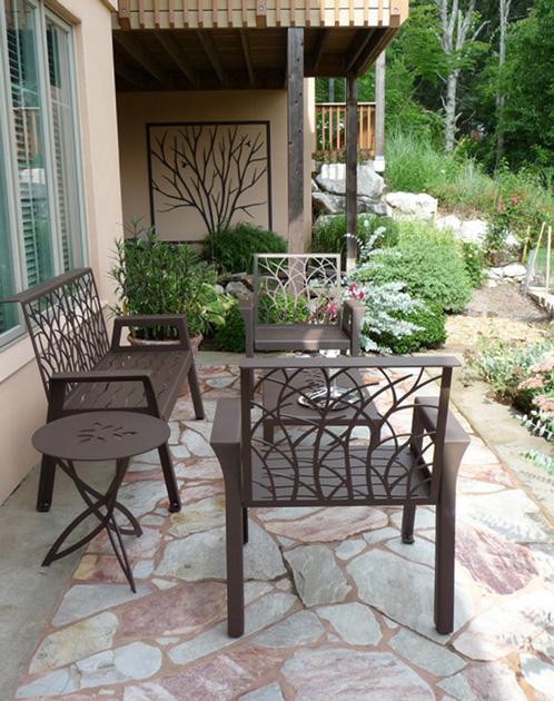 Terrace Furniture Group by Trellis Art Designs