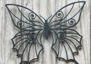 Butterfly by Trellis Art Designs