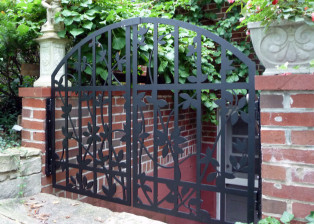 Clematis Gate by Trellis Art Designs