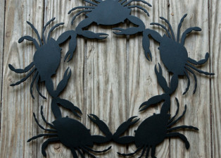 Crab Wreath by Trellis Art Designs