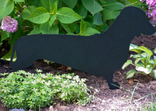 Dachshund Stake by Trellis Art Designs
