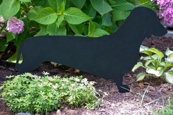 Dachshund Stake by Trellis Art Designs