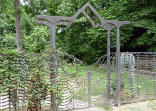 Butterfly Gates and Arbor by Trellis Art Designs