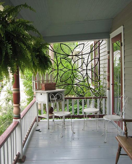 Futuristic Victorian Front Gardens 9 On Garden Design: Victorian Porch Trellis