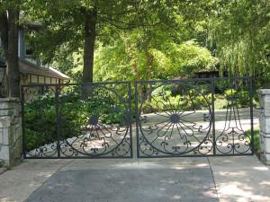 Driveway Gates by Trellis Art Designs