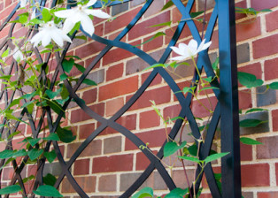 Undulating Lattice Trellis by Trellis Art Designs