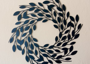 Leaf Wreath by Trellis Art Designs