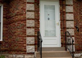 Framed Address Stake, Trellis Art Designs