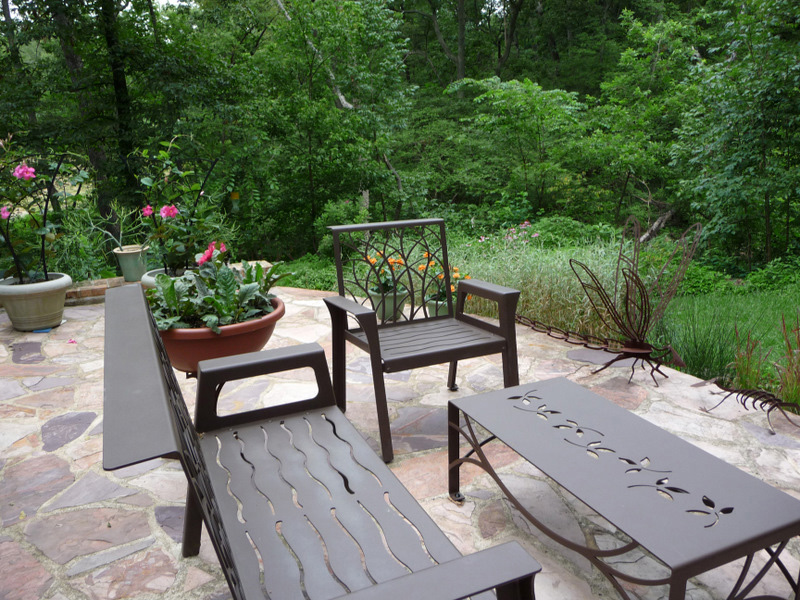 Terrace Furniture by Trellis Art Designs