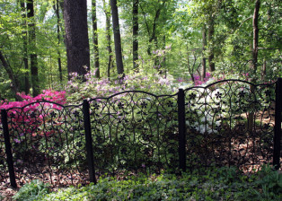 Azalea Fence by Trellis Art Designs