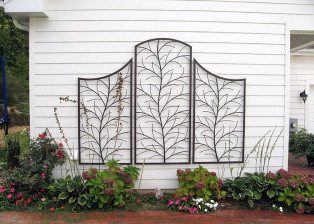 Twig Tree Trellis by Trellis Art Designs