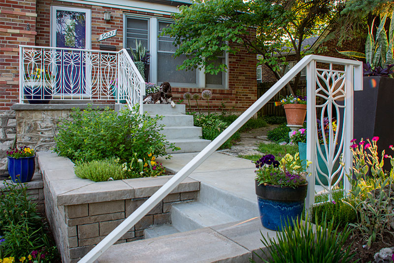 Trellis Art Designs Custom Railing